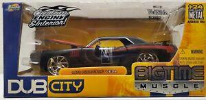 2005 Jada Toys Dub City Big Time Muscle 1960 Plymouth 'Cuda 1:24 Model Car NIB