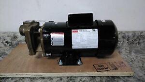 Dayton 4JPD9 3/4 HP 3450 RPM 115/208-230V 1 In Inlet/Outlet Turbine Pump