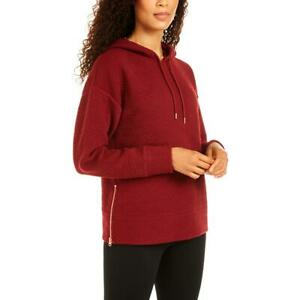 Ideology Womens Cozy Comfy Comfortable Hoodie Loungewear BHFO 8947