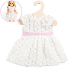 Heless Kleidungsset Traumkleid 35-45 cm Kleid Puppe Puppenkleid Brautkleid NEU