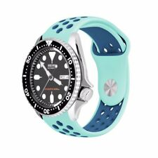 Soft Silicone Sport Watch Band Strap for Seiko Diver Scuba SKX007 fit 22mm Lug