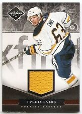 11/12 LIMITED MATERIALS GAME JERSEY #174 Tyler Ennis #40/99
