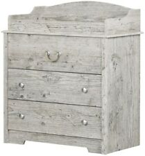 Baby Changing Table South Shore Aviron Seaside Pine Nautical Furniture