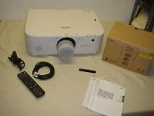 NEC NP-PA571W-13ZL 5700 LUMEN LCD LARGE VENUE PROJECTOR WITH ZOOM LENS - READ!