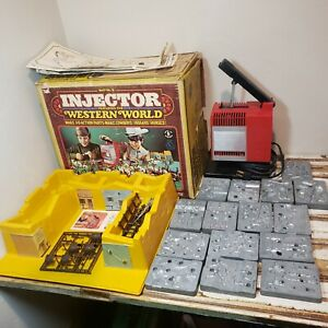 Mattel's Injector Featuring The Western World With The Box!