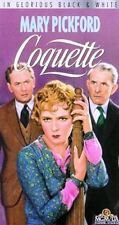 VHS Coquette: Mary Pickford Johnny Mack Brown William Janney Louise Beavers