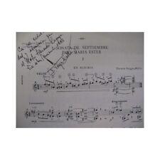 VARGAS WALLIS Darwin Sonata Septiembre Guitarra partitura sheet music score