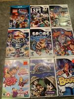 Lot Of 9 Nintendo Wii Games,Tested,look At Pics For Games Included.Lego,Dora,spy