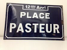 Antique french enamel street sign
