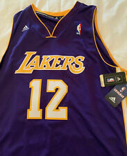 XXL purple LOS ANGELES LAKERS HOWARD #12 NBA Basketball adidas Swingman Jersey