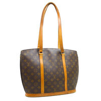 LOUIS VUITTON BABYLONE SHOULDER TOTE BAG MB0081 PURSE MONOGRAM M51102 31164