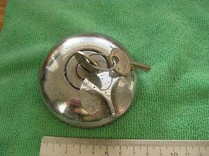 Car fuel cap Classic Chrome Wilmot Breedon with 2 keys