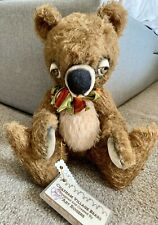 ARTIST BEAR MOHAIR  OOAK CHATHAM VILLAGE BY ART ROGERS SIGNED MINT TAGS,