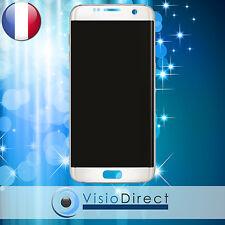 Ecran complet pour Samsung Galaxy S7 Edge G935F blanc vitre tactile+LCD+châssis