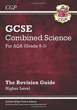 New Grade 9-1 GCSE Combined Science: AQA Revision Guide with Online Edition - H