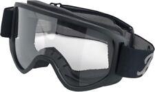 Biltwell Script Moto 2.0 Goggles (Black, One Size Fits Most) Script Black Multi