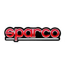 RED SPARCO RACING CAR SEAT ADHESIVO PEGATINA STICKERS DECALS AUFKLEBER ADESIVI