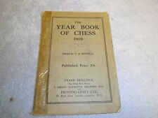 Vintage Allan Troy Chess Book-1909 Year Book of Chess-MB#5