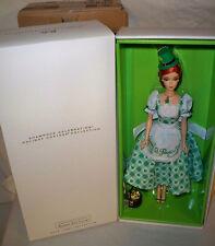 Holiday Hostess Shamrock Celebration Barbie Doll NRFB fan Club Exclusive nrfb