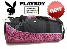 NEW PLAYBOY 'WILD' LEOPARD PRINT OVERNIGHT TRAVEL BAG OFFICIAL LICENSED ~ RRP$44