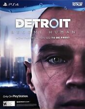 Sony PS4 GOD OF WAR / DETROIT BECOME HUMAN new 21x27 poster MINT