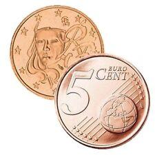 Pièces euro de la France pour 5 Cent année 1999