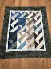 Batik Unfinished Quilt Top 47x 55.....$38
