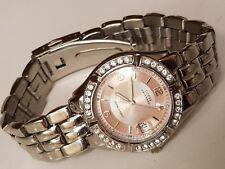 Guess Waterpro Ladies Wrist Watch gold/silver, 330 metres water resistant