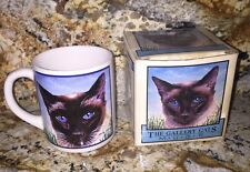 The Gallery Cats Siamese Coffee Message Mug With Box
