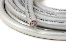 KnuKonceptz KCA White Pearl Ultra Flex TRUE 1/0 Gauge Power Wire 0 AWG Cable