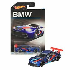 NEW Hot Wheels 1:64 Die Cast Car BMW Collection Diecast Series Blue M3 GT2 5/8