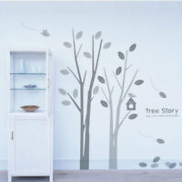 Bird Tree Branch Wall Art Decal Removable Vinyl Stickers Mural Home Decor Deco