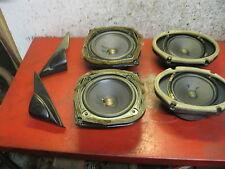 08 07 06 05 04 03 Mazda 6 six oem BOSE front & rear door speaker set speakers