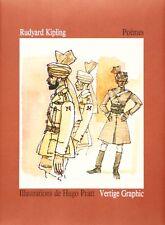 Livre Corto Maltese Poèmes, Rudyard Kipling Vertige Graphic