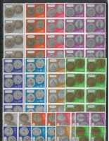 DEALER STOCK SAN MARINO MNH 1972 Coins 8v 10 SETS s32713