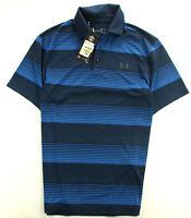 Under Armour NEU!!! Polo Poloshirt Shirt Blau Gr. M
