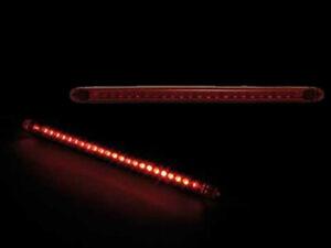 LED Mini Rücklicht String rotes Glas für Motorrad ATV Quad universal
