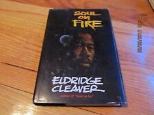 1978 SOUL ON FIRE Eldrige Cleaver WORD BOOKS WACO TX HC/DJ/IL
