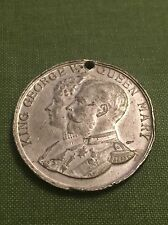 1935 George V Silver Jubilee Medal British Made Lead Coin.