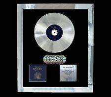 QUEEN CLASSIC QUEEN  MULTI (GOLD) CD PLATINUM DISC FREE POSTAGE!!