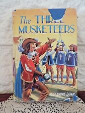 "Dean & Son Ltd ""The Three Musketeers"" by Alexandre Dumas Orig Dust Cover VGC"