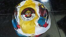 Vintage Smokey The Bear Vinyl Inflatable Beach Ball Toy Jennie G Sales Co Inc