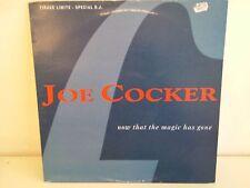 "MAXI 12"" JOE COCKER Now that the magic has gone sp 1627 promo"
