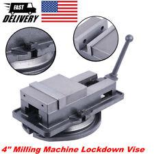 4 Milling Machine Lockdown Vise 360 Swivel Base Precise Scale Clamping Vise