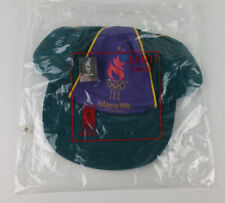 Vintage Atlanta 1996 Olympics Game Collection By Avon Snapback Hat Green NIP NEW