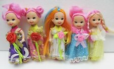 5pc pretty girl doll with clothes,gift toy baby doll for girl Xmas gift