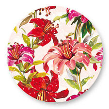 "Pin Button Badge Ø25mm 1"" Motif Pattern Colore Plante Fleur Flower Bouquet flore"