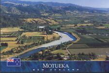 Postcard: Luftansicht von Motueka, Nelson,  Neuseeland