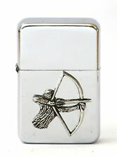 Archery Bow Hunting Gift Petrol Lighter FREE ENGRAVING