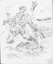 ROCK STAR SUPERHERO original art by JIM JIMENEZ